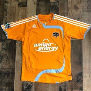 Adidas Houston Dynamo MLS Soccer Jersey